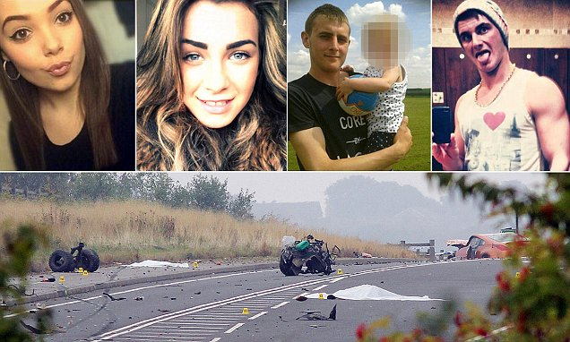 Four friends died in 16th birthday party tragedy when sports car hit quad bike