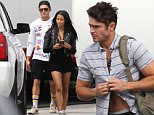 Picture Shows: Zac Efron, Sami Miro  September 28, 2015\n \n Couple Zac Efron and Sami Miro are spotted on the set of 'Neighbors 2' filming in Atlanta, Georgia. The stylish couple kept their cool with Zac making a quick wardrobe change before leaving set with Sami.\n \n Exclusive All Rounder\n UK RIGHTS ONLY\n FameFlynet UK © 2015\n Tel : +44 (0)20 3551 5049\n Email : info@fameflynet.uk.com