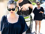 27.SEPTEMBER.2015 - CALABASAS - USA\n*AVAILABLE FOR UK SALE ONLY*\nAMERICAN ACTRESS KALEY CUOCO TAKES HER DOG FOR A WALK AT A PARK BEFORE GRABBING ITS BED AND HEADING TO A FRIENDS HOUSE FOR A GIRLS DAY IN TO HELP MEND HER BROKEN HEART OVER THE ANNOUNCEMENT OF HER SEPARATION FROM HUSBAND RYAN SWEETING.\nBYLINE MUST READ : XPOSUREPHOTOS.COM\n***UK CLIENTS - PICTURES CONTAINING CHILDREN PLEASE PIXELATE FACE PRIOR TO PUBLICATION ***\n*UK CLIENTS MUST CALL PRIOR TO TV OR ONLINE USAGE PLEASE TELEPHONE 0208 344 2007*