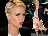 Charlize Theron out and about in a multicolored maxi-dress in NYC\n\nPictured: Charlize Theron\nRef: SPL1138302  280915  \nPicture by: XactpiX/Splash\n\nSplash News and Pictures\nLos Angeles: 310-821-2666\nNew York: 212-619-2666\nLondon: 870-934-2666\nphotodesk@splashnews.com\n