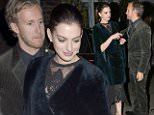 Anne Hathaway leaving Soho House venue for the Premiere after party\nFeaturing: Anne Hathaway, Adam Shulman\nWhere: London, United Kingdom\nWhen: 27 Sep 2015\nCredit: WENN.com