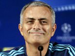 epa04954764 Chelsea's manager Jose Mourinho during a press conference at Dragao stadium in Porto, Portugal, 28 September 2015. Chelsea will face FC Porto in the UEFA Champions League group G soccer match on 29  September.  EPA/ESTELA SILVA