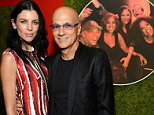 Fashion model Liberty Ross and Producer Jimmy Iovine attend LACMA's 50th Anniversary Gala sponsored by Christies at LACMA in Los Angeles, California, America.     LOS ANGELES, CA - APRIL 18:  (Photo by Michael Kovac/Getty Images for LACMA)