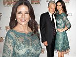 "NEW YORK, NY - SEPTEMBER 27:  Joe Lanteri, Catherine Zeta-Jones and Michael Douglas attend NYC Dance Alliance Foundation's ""Bright Lights Shining Stars"" Gala at NYU Skirball Center on September 27, 2015 in New York City.  (Photo by Santiago Felipe/Getty Images)"