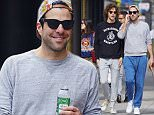 Zachary Quinto spotted with boyfriend Miles McMillan walking their dogs in the East Village neighborhood of NYC\n\nPictured: Zachary Quinto, Miles McMillan\nRef: SPL1137583  270915  \nPicture by: J. Webber / Splash News\n\nSplash News and Pictures\nLos Angeles: 310-821-2666\nNew York: 212-619-2666\nLondon: 870-934-2666\nphotodesk@splashnews.com\n