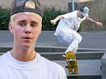 EXCLUSIVE: Justin Bieber goes skateboarding in Melbourne Part 1.\nJustin Bieber was seen out skateboarding in Treasury Place just outside of Melbourne's CBD. Normally a skateboarding free area, Bieber was left alone as he practice his tricks, which included doing an ollie down two consecutive set of stairs.\nBieber wore an all white outfit with a white shirt and white jeans, red shoes and a grey hat which he had on backwards.\nHe was seen doing a 180 Ollie off a gutting while holding a cigarette in his hand. Just before performing the trick, Justin's phone fell out of his pocket  and he run over the top of it with his skateboard, pushing it along the footpath and onto the road.\n\nPictured: Justin Bieber\nRef: SPL1137812  270915   EXCLUSIVE\nPicture by: Splash News\n\nSplash News and Pictures\nLos Angeles: 310-821-2666\nNew York: 212-619-2666\nLondon: 870-934-2666\nphotodesk@splashnews.com\n