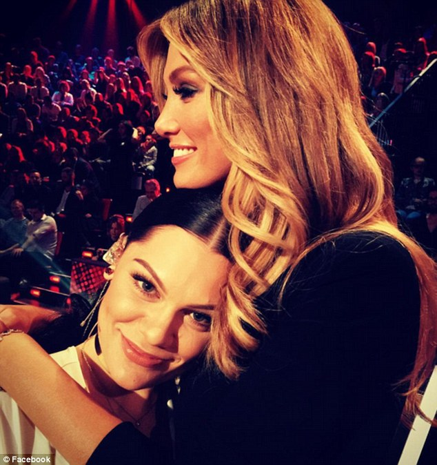 Was it all for the cameras? Delta and Jessie J made up on the last episode of The Voice
