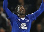 """Football - West Bromwich Albion v Everton - Barclays Premier League - The Hawthorns - 28/9/15  Romelu Lukaku celebrates scoring the third goal for Everton  Action Images via Reuters / Jason Cairnduff  Livepic  EDITORIAL USE ONLY. No use with unauthorized audio, video, data, fixture lists, club/league logos or """"live"""" services. Online in-match use limited to 45 images, no video emulation. No use in betting, games or single club/league/player publications.  Please contact your account representative for further details."""