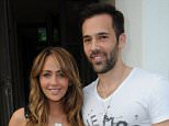 Pregnant Samia Ghadie and Sylvain Longchambon arrive at Victor's restaurant in Hale, Cheshire\n\nFeaturing: Samia Ghadie, Sylvain Longchambon\nWhere: Manchester, United Kingdom\nWhen: 26 Jun 2015\nCredit: Steve Searle/WENN.com