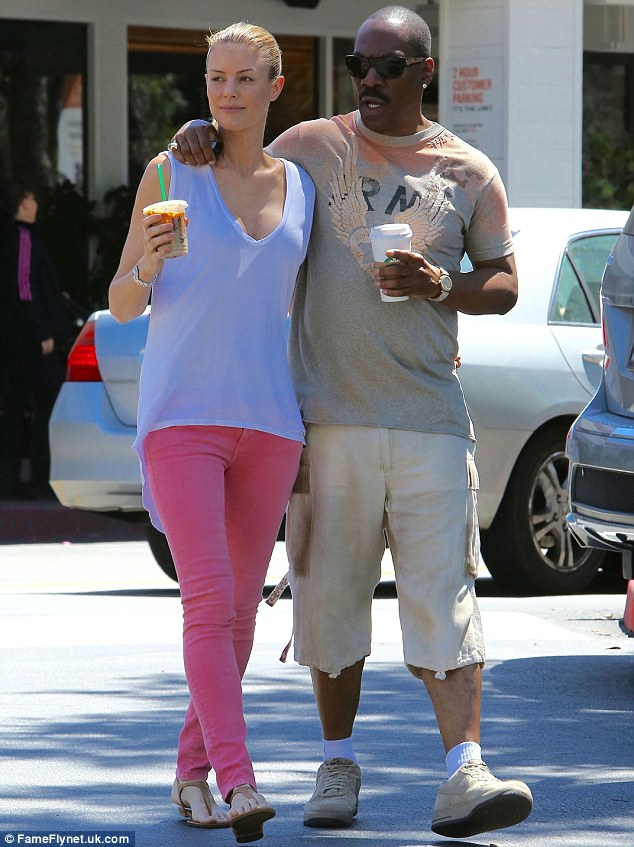 A couple that sips coffee together... On Tueday, they were spotted going on a very similar excursion together