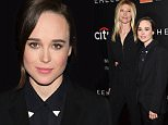"NEW YORK, NY - SEPTEMBER 28:  Samantha Thomas (L) and actress Ellen Page attend the ""Freeheld"" New York premiere at the Museum of Modern Art on September 28, 2015 in New York City.  (Photo by Jamie McCarthy/Getty Images)"