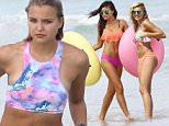 Picture Shows: Yara Khmidan  September 28, 2015\n \n Models Rachel Hilbert & Yara Khmidan show off their bikini bodies during a photo shoot for Victoria's Secret in Miami, Florida.\n \n Non-Exclusive\n UK RIGHTS ONLY\n \n Pictures by : FameFlynet UK © 2015\n Tel : +44 (0)20 3551 5049\n Email : info@fameflynet.uk.com