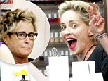 Sharon Stone has fun with a friend at a nail salon in Beverly Hills, CA.\n\nPictured: Sharon Stone \nRef: SPL1139329  280915  \nPicture by: Splashnews\n\nSplash News and Pictures\nLos Angeles: 310-821-2666\nNew York: 212-619-2666\nLondon: 870-934-2666\nphotodesk@splashnews.com\n