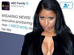 Mandatory Credit: Photo by Stewart Cook/REX Shutterstock (4081415o).. Nicki Minaj.. MTV Video Music Awards Press Room, Los Angeles, America - 24 Aug 2014.. WEARING SAINT LAURENT..