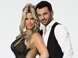 """DANCING WITH THE STARS - KIM ZOLCIAK BIERMANN & TONY DOVOLANI - The celebrity cast of """"Dancing with the Stars"""" is lacing up their ballroom shoes and getting ready for their first dance on MONDAY, SEPTEMBER 14 (8:00-10:01 p.m., ET) on the ABC Television Network. Kim Zolciak Biermann is partnered with Tony Dovolani. (Craig Sjodin/ABC via Getty Images)"""