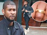 Picture Shows: Usher  September 29, 2015\n \n R&B Singer Usher spotted near the Bowery hotel in New York City, New York.\n \n The star, who brought his rumoured wife to the premiere of 'The Martian' recently, was dressed in a black jacket with a camouflage pattern, black jeans and a pair of pale brown boots.\n \n Non Exclusive\n UK RIGHTS ONLY\n \n Pictures by : FameFlynet UK © 2015\n Tel : +44 (0)20 3551 5049\n Email : info@fameflynet.uk.com