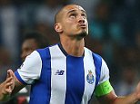Maicon of FC Porto celebrates scoring his goal to make the score 2-1 during the UEFA Champions League Group G match between FC Porto and Chelsea played at Estadio Do Dragao, Porto