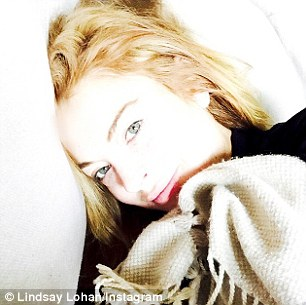 Say cheese: The actress has also been busy posting a series of new Instagram snaps