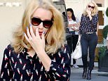 ***MANDATORY BYLINE TO READ INFPhoto.com ONLY***..Iggy Azalea has an itchy nose while out in Los Angeles, CA.....Pictured: Iggy Azalea..Ref: SPL1139004  280915  ..Picture by: INFphoto.com....