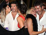 LONDON, ENGLAND - SEPTEMBER 28:  Simon Cowell leaving the Pride of Britain awards at the Grosvenor hotel great room on September 28, 2015 in London, England.  (Photo by Mark Robert Milan/GC Images)