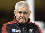 Rugby Union - Wales v Uruguay - IRB Rugby World Cup 2015 Pool A - Millennium Stadium, Cardiff, Wales - 20/9/15  Wales head coach Warren Gatland  Reuters / Rebecca Naden  Livepic