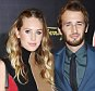 MILAN, ITALY - SEPTEMBER 27:  Dylan Frances Penn and Hopper Penn attend the Salvatore Ferragamo show during the Milan Fashion Week Spring/Summer 2016 on September 27, 2015 in Milan, Italy.  (Photo by Venturelli/WireImage)