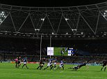 Rugby World Cup, Olympic Stadium. New Zealand v Namibia 24/09/15: Picture Kevin Quigley/solo syndication