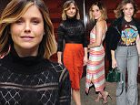 Mandatory Credit: Photo by Startraks Photo/REX Shutterstock (5189356f)\n Sophia Bush\n The Rachel Ray Show, New York, America - 28 Sep 2015\n Sophia Bush getting ready for a Rachael Ray appearance\n