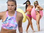 Picture Shows: Yara Khmidan  September 28, 2015\n \n Models Rachel Hilbert & Yara Khmidan show off their bikini bodies during a photo shoot for Victoria's Secret in Miami, Florida.\n \n Non-Exclusive\n UK RIGHTS ONLY\n \n Pictures by : FameFlynet UK © 2015\n Tel : +44 (0)20 3551 5049\n Email : info@fameflynet.uk.com