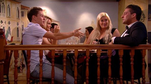'Posh and Becks': Gemma tells Sam she and new boyfriend Arg are Essex's new A-list couple