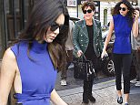 30.SEPTEMBER.2015 - PARIS - FRANCE  KRIS JENNER WITH HER BOYFRIEND CORY GAMBLE AND DAUGHTER KENDALL JENNER HEAD TOWARDS BALMAIN'S SHOWROOM AT PIERRE CHARON'S STREET IN PARIS. *** AVAILABLE FOR UK SALE ONLY *** BYLINE MUST READ : E-PRESS / XPOSUREPHOTOS.COM ***UK CLIENTS - PICTURES CONTAINING CHILDREN PLEASE PIXELATE FACE PRIOR TO PUBLICATION *** **UK CLIENTS MUST CALL PRIOR TO TV OR ONLINE USAGE PLEASE TELEPHONE 0208 344 2007**