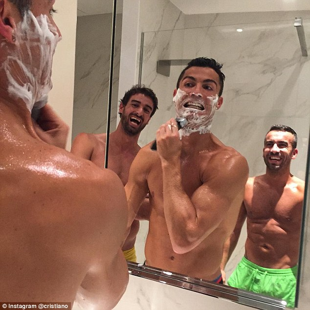 Cristiano Ronaldo posted this Instagram snap as he bids to become Real Madrid's all-time record goalscorer