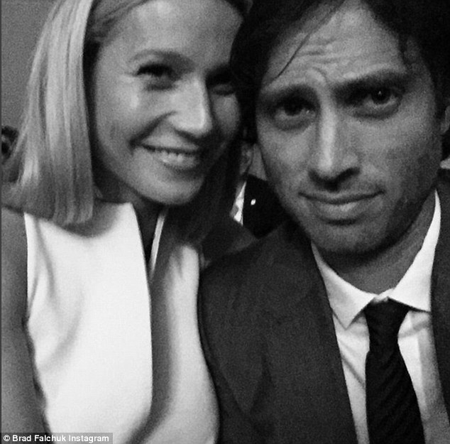 New romance: The Oscar-winning actress, 42, is now dating Glee and Scream Queens producer Brad Falchuk. The new couple confirmed their romance his week with this selfie Falchuk posted on Instagram