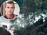 Picture Shows: General Views  September 30, 2015.. .. General views of Gavin Rossdale's newest home in Bel Air taken August 27, 2015. After divorcing from wife Gwen Stefani, the singer has moved into this 5 Bedroom Bachelor pad with a pool and cabana space. .. .. Non-Exclusive.. UK Rights Only.. .. Pictures by : FameFlynet UK © 2015.. Tel : +44 (0)20 3551 5049.. Email : info@fameflynet.uk.com