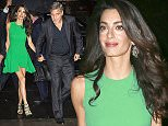 George Clooney walks hand-in-hand with his gorgeous wife Amal Clooney and BFF Rande Gerber to the afterparty of the 15th anniversary of his movie 'O Brother, Where Art Thou?' in Midtown, NY\n\nPictured: Amal Clooney, George Clooney, Rande Gerber\nRef: SPL1140064  290915  \nPicture by: XactpiX/Splash\n\nSplash News and Pictures\nLos Angeles: 310-821-2666\nNew York: 212-619-2666\nLondon: 870-934-2666\nphotodesk@splashnews.com\n