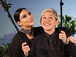 theellenshowA photo with the selfie queen! And @KimKardashian! Don?t miss tomorrow.