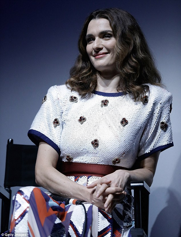Promo: The actress sat down for a Q&A about the sci-fi love story during the event
