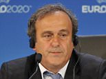 GENEVA, SWITZERLAND - SEPTEMBER 19:  UEFA President Michel Platini speaks during a press conference following the UEFA EURO 2020 Host Cities & Final announcement ceremony held at Espace Hippomene on September 19, 2014 in Geneva, Switzerland.  (Photo by Harold Cunningham/Getty Images for UEFA)