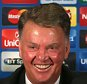 MANCHESTER, ENGLAND - SEPTEMBER 29:  Manager Louis van Gaal of Manchester United speaks during a press conference at Old Trafford on September 29, 2015 in Manchester, United Kingdom.  (Photo by John Peters/Man Utd via Getty Images)