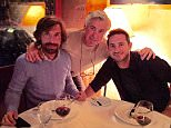 mrancelotti - Great soiree with two legends and good friends @andreapirlo21 @franklampard ??