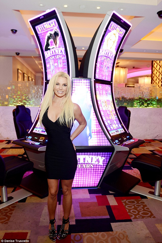 Feel Lucky punk? Fans of the star can now chance their arm on her Planet Hollywood slot machines