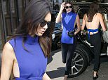 PARIS, FRANCE - SEPTEMBER 30:  Kendall Jenner leaves the 'Fendi' store on 'Avenue Montaigne' on September 30, 2015 in Paris, France.  (Photo by Marc Piasecki/GC Images)