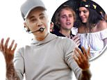 epa04956707 Canadian singer Justin Bieber performs at an exclusive gig for some 1,200 fans on Cockatoo Island in Sydney, Australia, 30 September 2015. Bieber's second visit to Australia this year includes performances in Melbourne and Sydney.  EPA/DEAN LEWINS AUSTRALIA AND NEW ZEALAND OUT