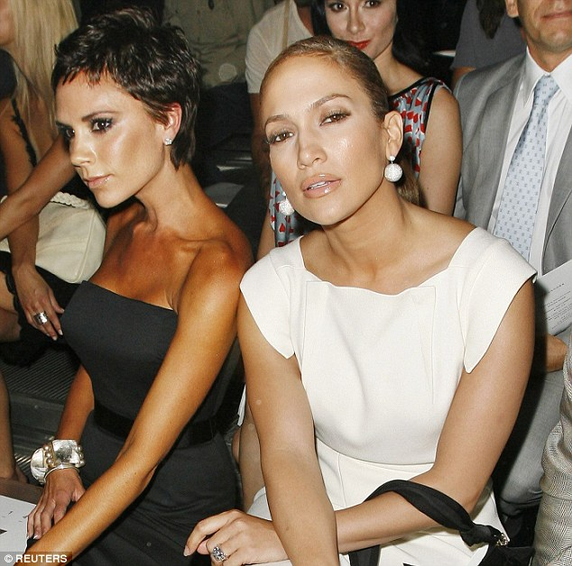 Jennifer Lopez, seen here with Victoria Beckham in 2008, has been a fan of the fish gape for some time now