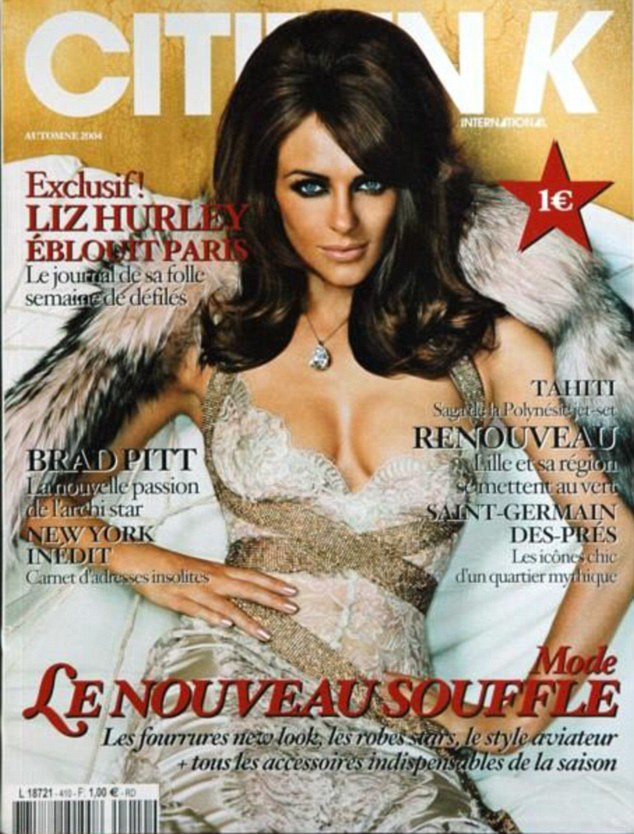 Throwback: It's been eleven years after Elizabeth's last cover shoot for the magazine in Spring 2004