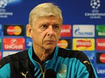 ST ALBANS, ENGLAND - SEPTEMBER 28:  Arsenal manager Arsene Wenger attends a press conference at London Colney on September 28, 2015 in St Albans, England.  (Photo by Stuart MacFarlane/Arsenal FC via Getty Images)