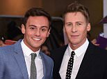 LONDON, ENGLAND - SEPTEMBER 28:  Tom Daley and Dustin Lance Black attend the Pride of Britain awards at The Grosvenor House Hotel on September 28, 2015 in London, England.  (Photo by Gareth Cattermole/Getty Images)