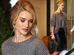 Mandatory Credit: Photo by Beretta/Sims/REX Shutterstock (5203510e)  Rosie Huntington Whiteley  Rosie Huntington Whiteley out and about, London, Britain - 30 Sep 2015
