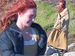 EXCLUSIVE: Poldark filming on Wednesday in Cornwall, UK  Pictured: Eleanor Tomlinson Ref: SPL1139657  300915   EXCLUSIVE Picture by: MK / Splash News  Splash News and Pictures Los Angeles: 310-821-2666 New York: 212-619-2666 London: 870-934-2666 photodesk@splashnews.com
