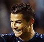 MALMO, SWEDEN - SEPTEMBER 30: Cristiano Ronaldo of Real Madrid celebrates after scoring during the UEFA Champions League Group A match between Malm? FF and Real Madrid CF at Swedbank Stadion on September 30, 2015 in Malmo, Sweden.  (Photo by Antonio Villalba/Real Madrid via Getty Images)